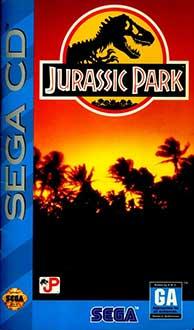 Carátula del juego Jurassic Park (SEGA CD)