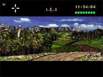 Pantallazo del juego online Jurassic Park (SEGA CD)