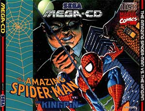Carátula del juego Spider-Man vs The Kingpin (SEGA CD)