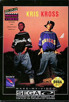 Carátula del juego Make My Video Kris Kross (SEGA CD)