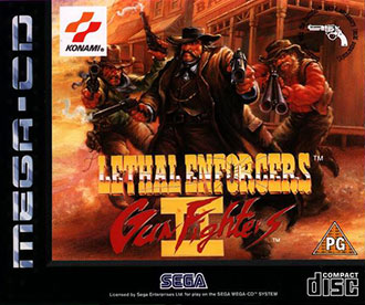 Juego online Lethal Enforcers II: Gun Fighters (SEGA CD)