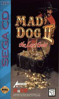 Juego online Mad Dog II: The Lost Gold (SEGA CD)