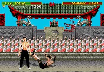 Pantallazo del juego online Mortal Kombat (SEGA CD)