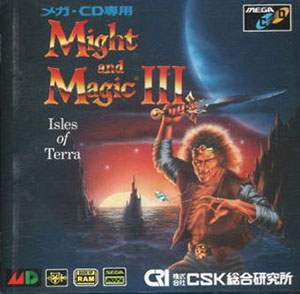 Juego online Might and Magic III: Isles of Terra (SEGA CD)