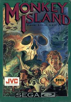 Juego online The Secret of Monkey Island (SEGA CD)