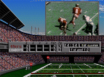 Pantallazo del juego online NFL's Greatest San Francisco Vs. Dallas 1978-1993 (SEGA CD)