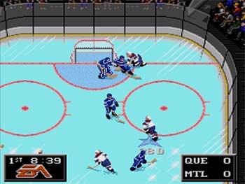 Pantallazo del juego online NHL '94 (SEGA CD)