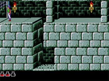 Pantallazo del juego online Prince of Persia (SEGA CD)