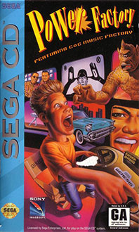 Carátula del juego Power Factory Featuring C+C Music Factory (SEGA CD)