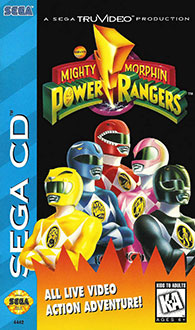 Juego online Mighty Morphin Power Rangers (SEGA CD)