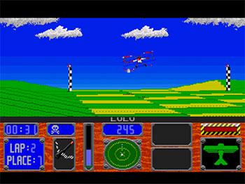 Pantallazo del juego online Racing Aces (SEGA CD)