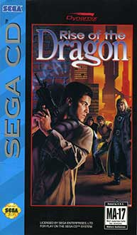 Carátula del juego Rise of the Dragon A Blade Hunter Mystery (SEGA CD)