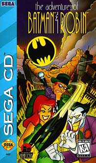 Carátula del juego The Adventures of Batman & Robin (SEGA CD)