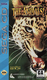 Carátula del juego The San Diego Zoo Presents The Animals! (SEGA CD)