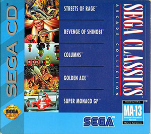Juego online Sega Classics Arcade Collection (Limited Edition) (SEGA CD)