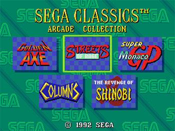 Imagen de la descarga de Sega Classics Arcade Collection
