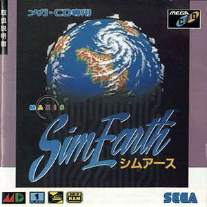 Juego online SimEarth: The Living Planet (SEGA CD)