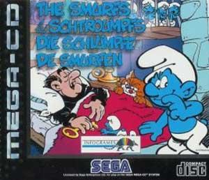 Carátula del juego The Smurfs (Los Pitufos) (SEGA CD)