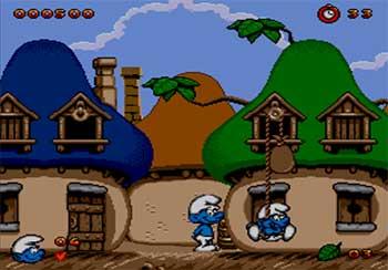Pantallazo del juego online The Smurfs (Los Pitufos) (SEGA CD)