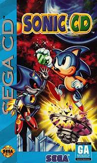 Carátula del juego Sonic CD (SEGA CD)