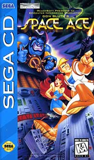 Juego online Space Ace (SEGA CD)
