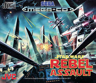 Juego online Star Wars: Rebel Assault (SEGA CD)