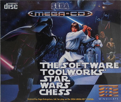 Portada de la descarga de The Software Toolworks' Star Wars Chess