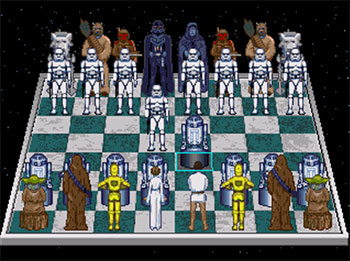 Imagen de la descarga de The Software Toolworks' Star Wars Chess