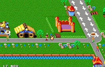 Pantallazo del juego online Theme Park (SEGA CD)