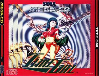 Juego online Time Gal (SEGA CD)
