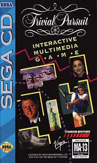 Portada de la descarga de Trivial Pursuit Interactive Multimedia Game