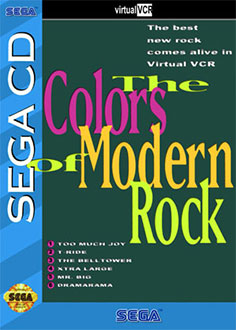 Juego online Virtual VCR: Colors of Modern Rock (SEGA CD)