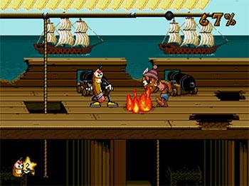 Pantallazo del juego online Wild Woody (SEGA CD)