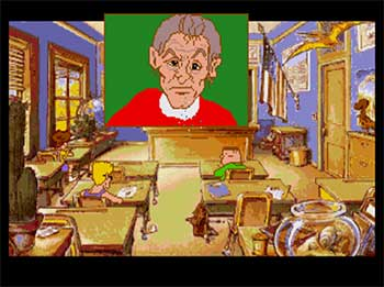 Pantallazo del juego online The Adventures of Willy Beamish (SEGA CD)