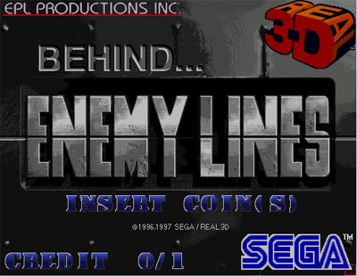 Carátula del juego Behind Enemy Lines (SEGA Model 2)