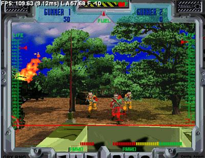 Pantallazo del juego online Behind Enemy Lines (SEGA Model 2)