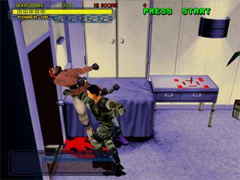 Pantallazo del juego online Dynamite Cop (SEGA Model 2)