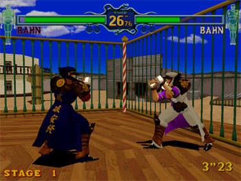 Pantallazo del juego online Fighting Vipers (SEGA Model 2)