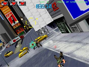 Pantallazo del juego online Gunblade NY (SEGA Model 2)