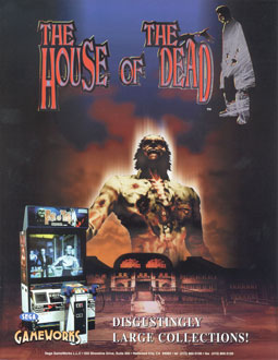 Carátula del juego House of the Dead (SEGA Model 2)