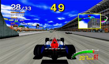Pantallazo del juego online INDY 500 (SEGA Model 2)