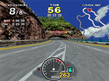 Pantallazo del juego online Manx TT Superbike (SEGA Model 2)