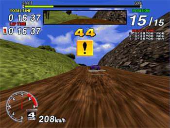 Pantallazo del juego online Sega Rally Championship (SEGA Model 2)