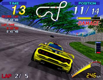 Pantallazo del juego online Super GT 24h (SEGA Model 2)
