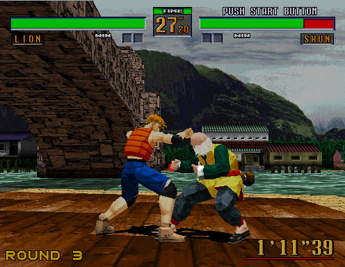 Pantallazo del juego online Virtua Fighter 2 (SEGA Model 2)