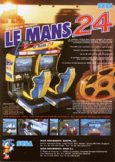 Carátula del juego LeMans 24 (SEGA Model 3)