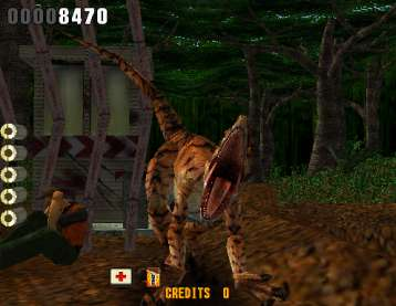 Pantallazo del juego online The Lost World (SEGA Model 3)