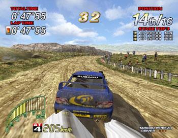 Pantallazo del juego online Sega Rally 2 (SEGA MODEL 3)