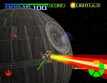 Pantallazo del juego online Star Wars Trilogy (SEGA Model 3)