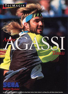 Juego online Andre Agassi Tennis (SMS)